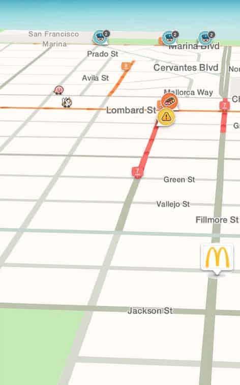 סיכות ממותגות של Waze Local
