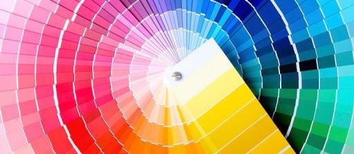 בחירת שילובי צבעים