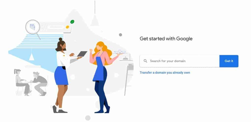 רכישת דומיין גוגל domain