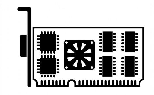 סמל כרטיס גרפי