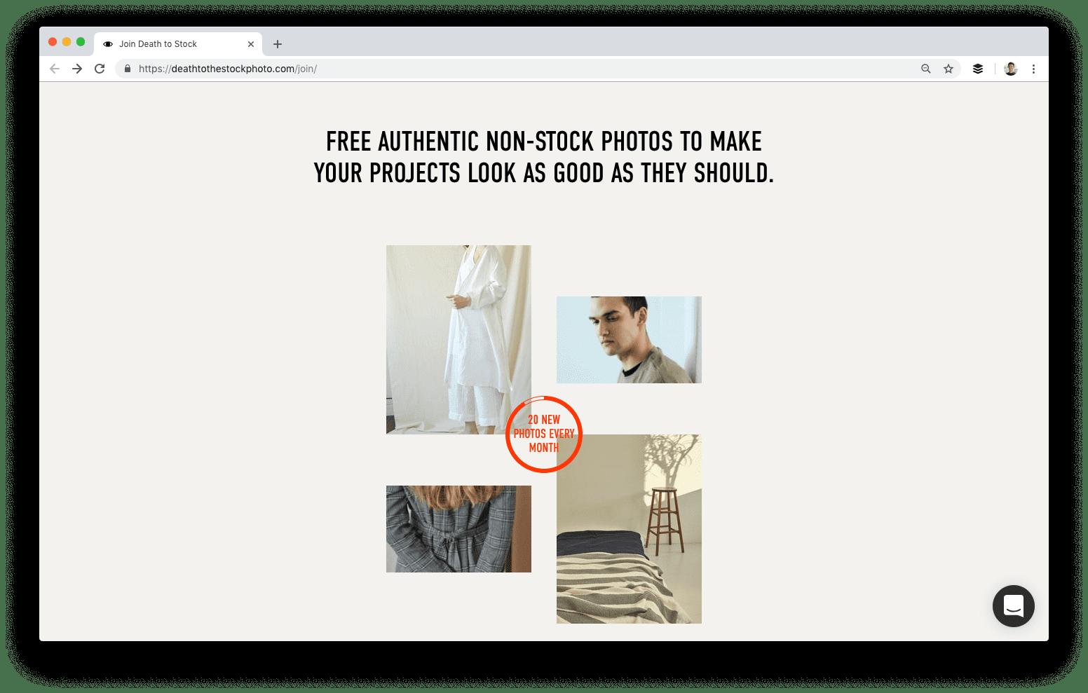 Death to Stock אתרים להורדת תמונות בחינם