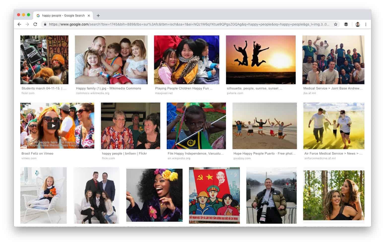 חיפוש תמונות מתקדם בגוגל